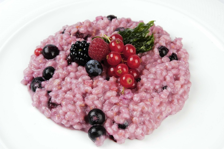 Risotto ai frutti di bosco Sant'Orsola