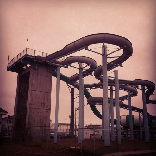 Abandoned Water Park In Maine. In 2019