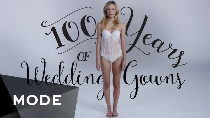 In a three-minute time-lapse video by Mode Glam, a beautiful model named Lolly Howie dons 100 years of traditional wedding dresses decade by decade, commencing with a very ornate dress and culminat…