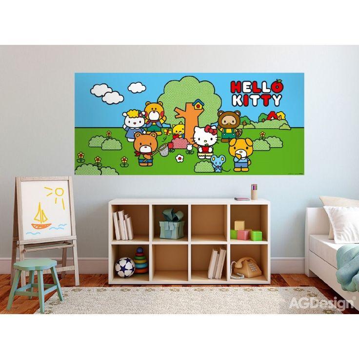 Hello Kittys poszter (202 cm x 90 cm)
