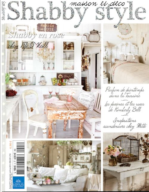 Better Homes And Gardens Magazines, Shabby Style,