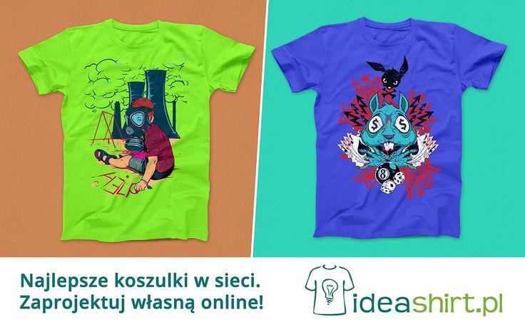 Najlepsze koszulki, oryginalne wzory, setki inspirujących pomysłów. Na www.ideashirt.pl każdy znajdzie coś odpowiedniego dla siebie!