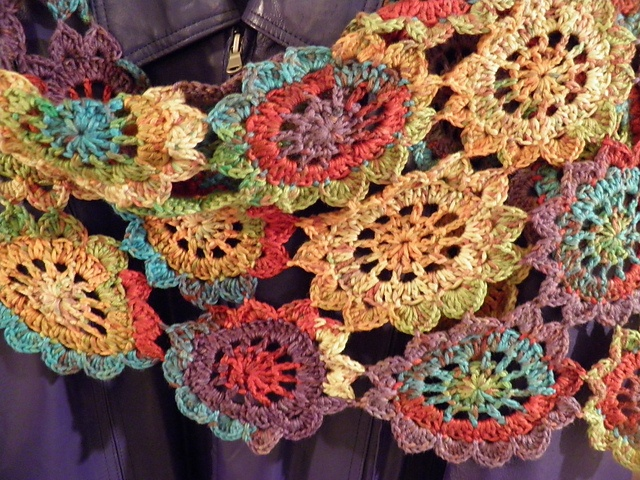 Japanese Flower Crochet Afghan Pattern : 1000+ images about Japanese Crochet Flowers - on the road ...
