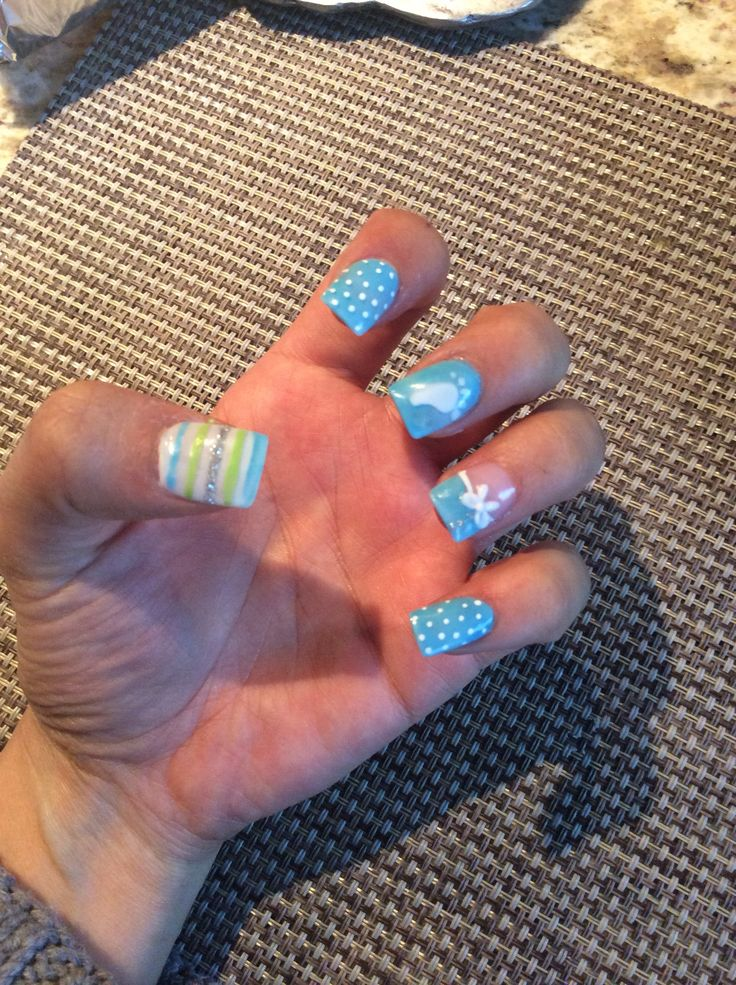 20 best Nail Art How 2 Baby Shower images on Pinterest | Baby shower ...