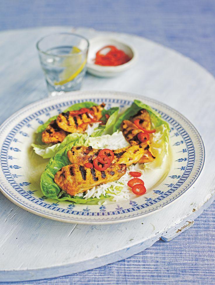 11 best jamie oliver spring fever images on pinterest jamie jamies korean chicken lettuce wraps forumfinder Images