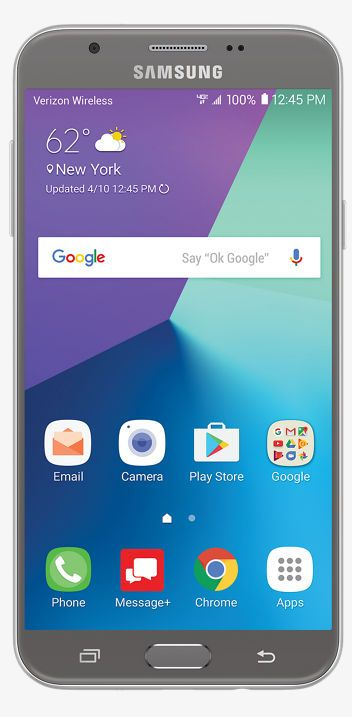 The Galaxy J7 V gives you big views with a 5.5-inch screen and long-lasting battery to make it easier to get through the day. Get it today at Verizon.