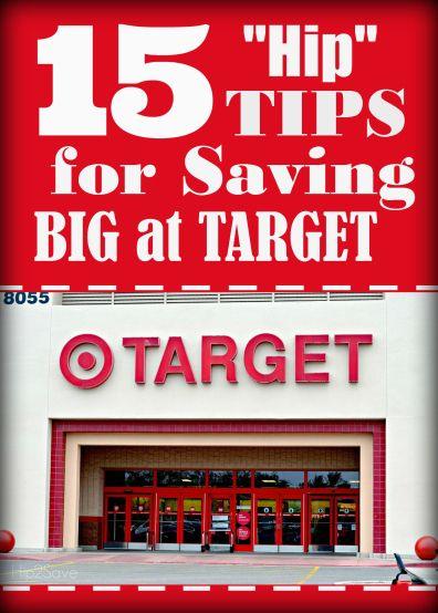 15 Hip Tips for Saving Big at Target