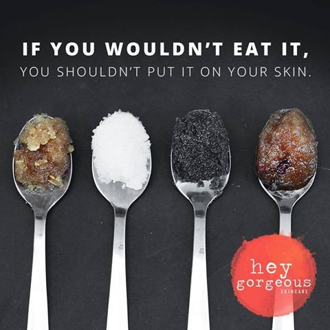 If you wouldn't eat it, you shouldn't put it on your skin!