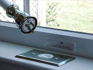 Electric window candles