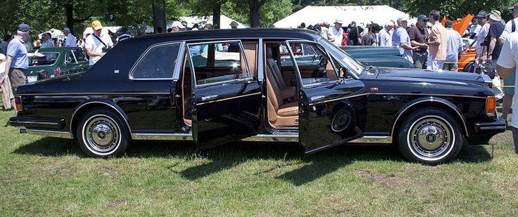 1993 Rolls-Royce Silver Spur II Mulliner Park Ward Touring Limousine