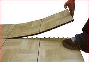 Interlocking Dance Floor Tile