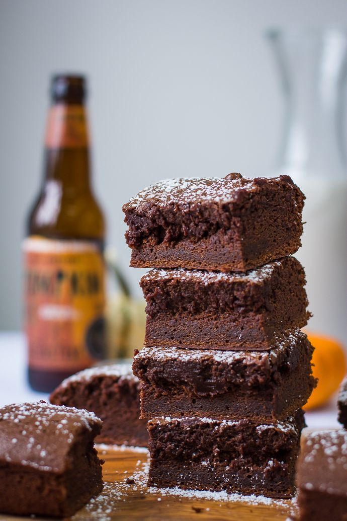 These Beer Brownies are super easy to make and are a nice twist to classic fudge brownies!