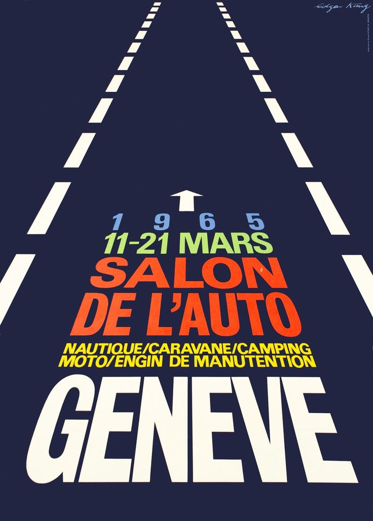9 best automobile posters images on pinterest autos for Adresse salon de l auto geneve
