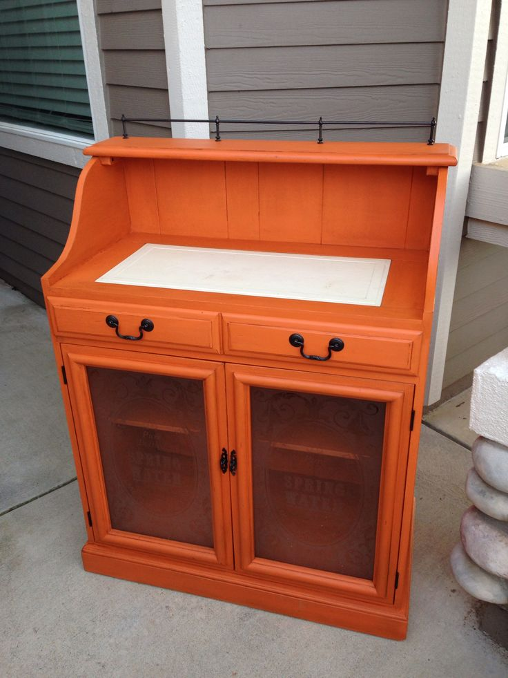 36 best images about barcelona orange on pinterest for Pinterest painted furniture