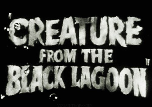 Creature From the Black Lagoon title card | Horror Movie Stills ...