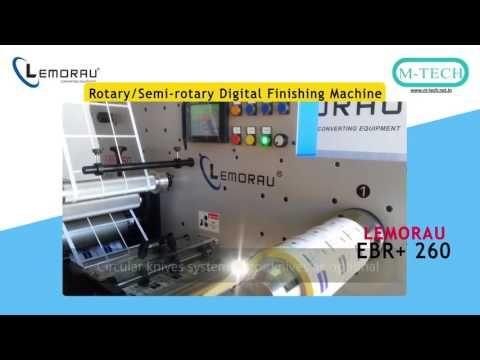 Lemorau EBR+260 Semi Full Rotary  Re Register Diecut