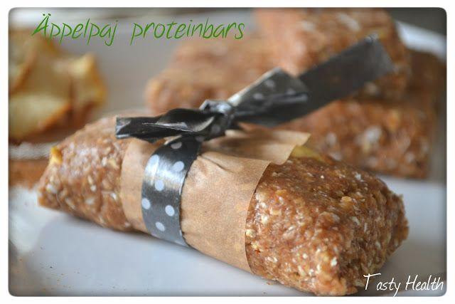 Tasty Health: Apple Pie Protein Bars (no bake)