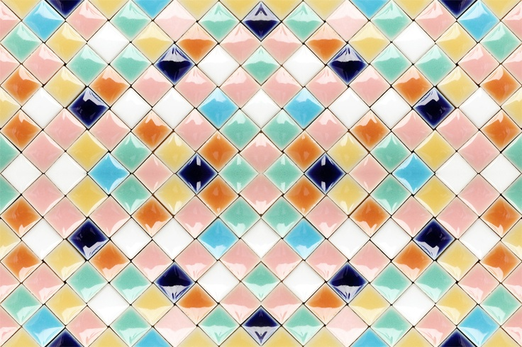 seamless retro tiles - coolest twitter background ever