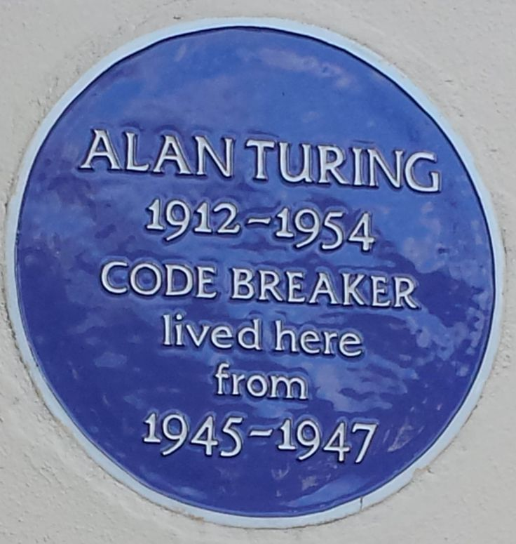 Code breaker and father of computer science Alan Turing lived in Hampton while working at the National Physical Laboratory.
