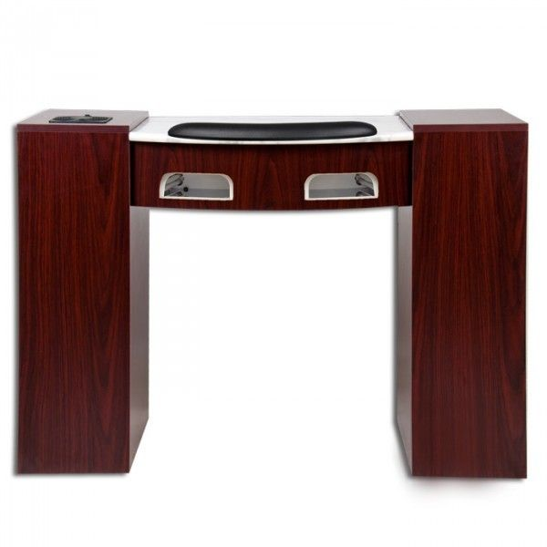 17 best images about nail salon furniture on pinterest for Nail table with vent