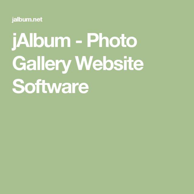 jAlbum - Photo Gallery Website Software