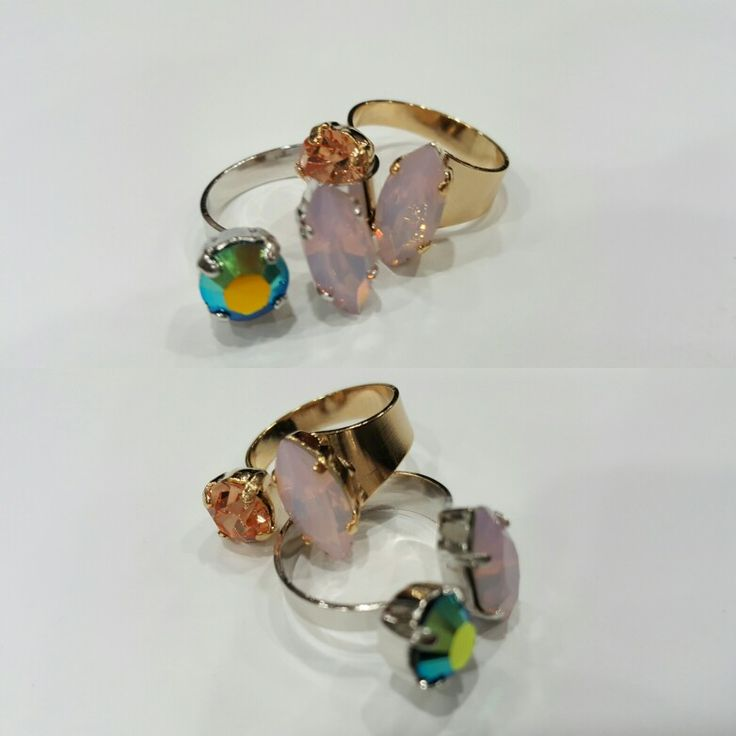 SaRo fashion rings