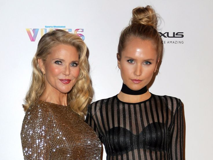 Christie Brinkley surprises her daughter with the news that she's officially a Sports Illustrated swimsuit model  and it's really touching