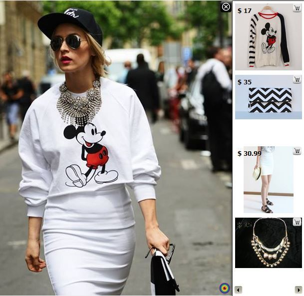 Street Style - Shop matching products in this pic at http://www.stylediggin.com/trendy-toon-town/