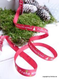 Weihnachtsband Merry und Weihnachten REST