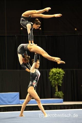 Acro Gymnastics Team in Redlands Gymnastics, Realis Gymnastics