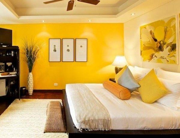 dormitorio amarillo