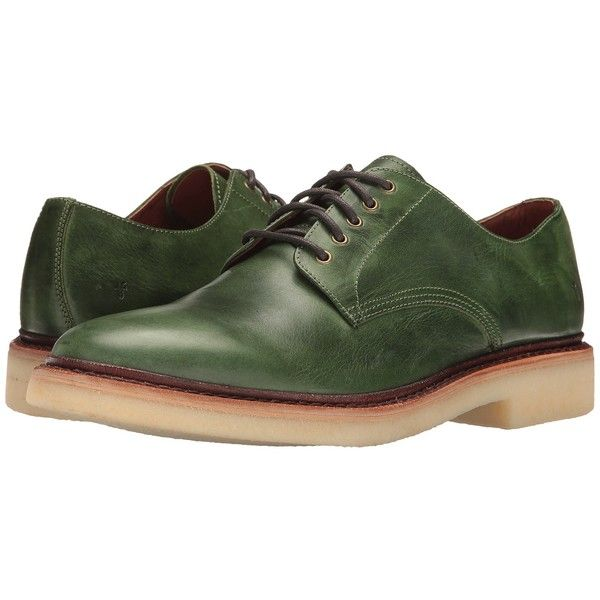 Frye Luke Oxford Green Men S Shoes 139 Liked On Polyvore