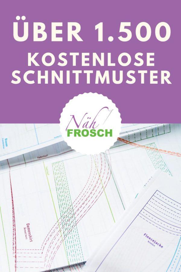 Über 1.500 kostenlose Schnittmuster, Nähanleitungen und Freebooks – Claudia Lübke