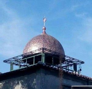 Sentra Kerajinan Tembaga, Raja Tembaga, harga kerajinan tembaga, pengrajin kubah tembaga, pengrajin kubah masjid tembaga, pengrajin lampu hias