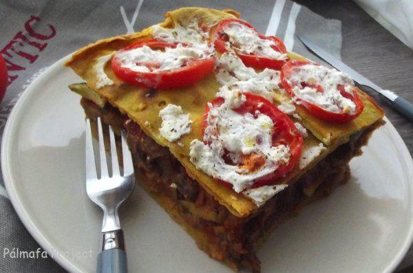 Zöldséges lasagne recept - Netamin Webshop
