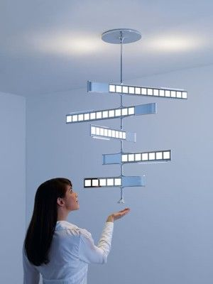 Philips Lumiblade OLED lighting concepts. These would be some slick lights for a baby room.