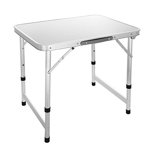 Aluminum Small Folding Camping Table, Lightweight Picnic Outdoor Indoor Table, Carrying Handle Included. For product & price info go to:  https://all4hiking.com/products/aluminum-small-folding-camping-table-lightweight-picnic-outdoor-indoor-table-carrying-handle-included/
