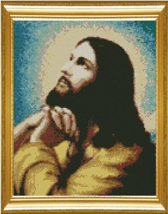 Рукоделие, DMC вышивка крестом, Набор Для комплект для Вышивания, молитесь Иисус Христос Шаблон Счетный Крест-Стежок, портрет Любовь Швейный набор