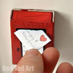 Dolls' Postbox Craft