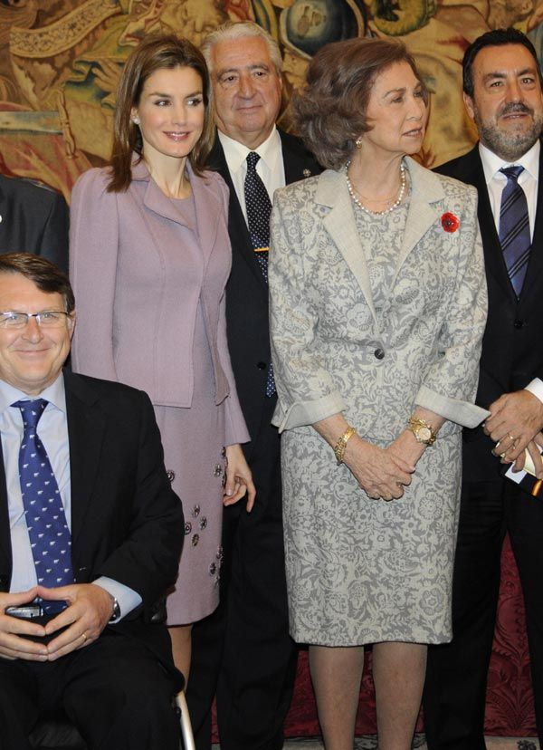 La Reina y la Princesa de Asturias unen fuerzas en su defensa de las causas sociales