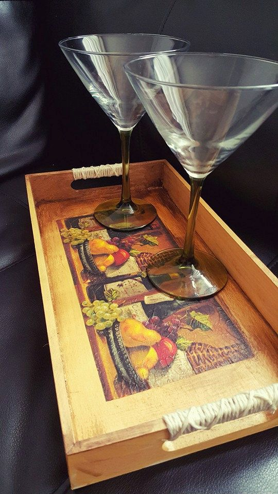 Check out this item in my Etsy shop https://www.etsy.com/listing/289258143/wooden-trays-with-handles-wine-tray