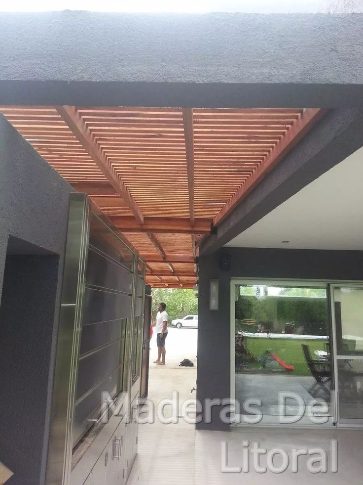 Best 25 pergola madera ideas on pinterest - Maderas y chapas ...