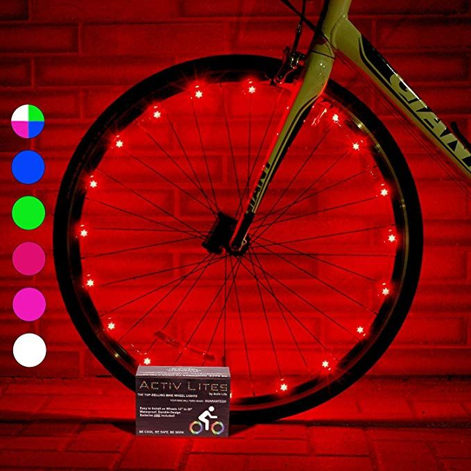 14 Activ Life Led Bike Wheel Lights With Batteries Included Get