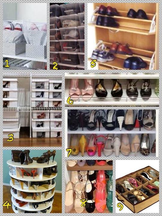 84 best images about organizadores de zapatos on pinterest - Organizadores de calzado ...