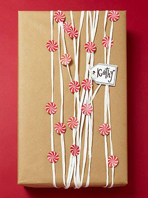 Candy Garland Gift Wrap