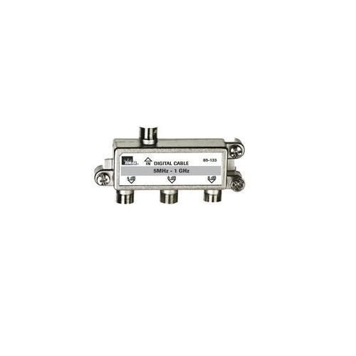 Ideal Industries - 85-133 - 3-Way Coax Splitter - 3-Way, Digital Cable Splitter - 5 MHz - 1 GHz