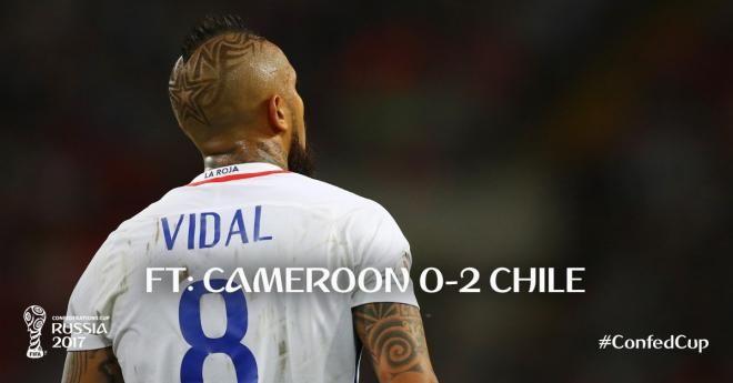 Covesia.com - Chile yang mewakili Amerika latin di Piala Konfederasi Sukses menundukkan lawannya dari Benua Afrika, Kamerun dengan skor telak 2-0, Minggu...