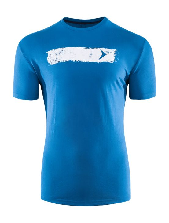 T-shirt made of soft touch, breathable fabric.   Benefits: -fashionable print -comfortable movement -breathable cotton