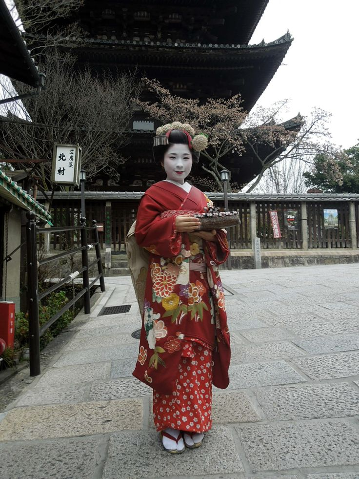 The traditional Japanese Kimono.  #Osaka