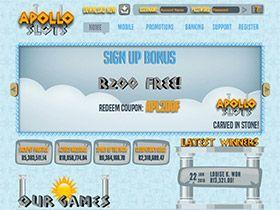 Play in Rands at Apollo Slots and Get R200.00 No Deposit Bonus